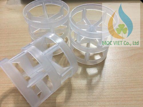 Vật liệu đệm Pall ring nhựa PP