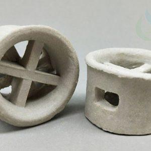 Đệm gốm cascade mini cho tháp xử lý khí