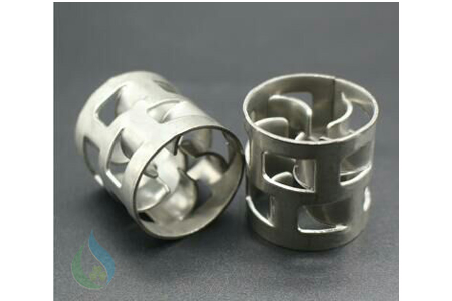Vật liệu đệm pall ring kim loại