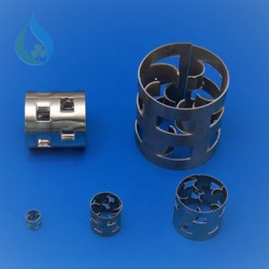 Vật liệu đệm pall ring kim loại trong xử lý khí thải