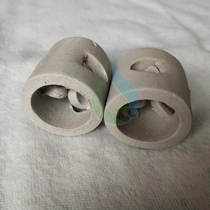 Vật liệu đệm vi sinh ceramic cho xu ly khi