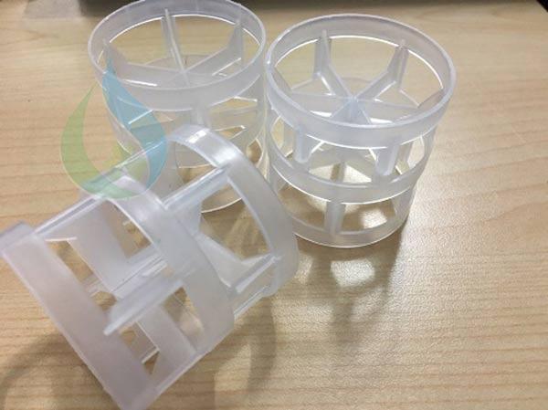 Vật liệu đệm nhựa Pall Ring