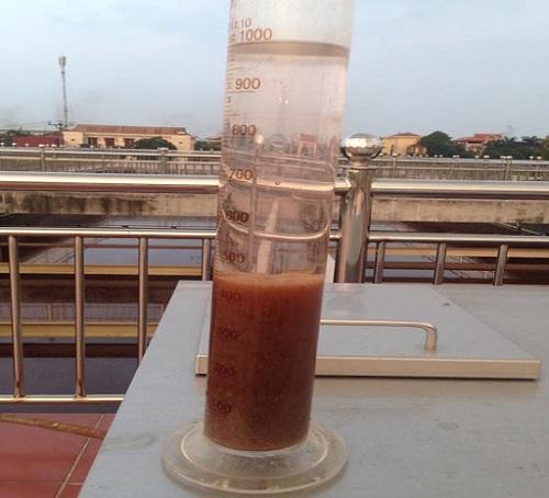 Ống đo bùn vi sinh hiếu khí