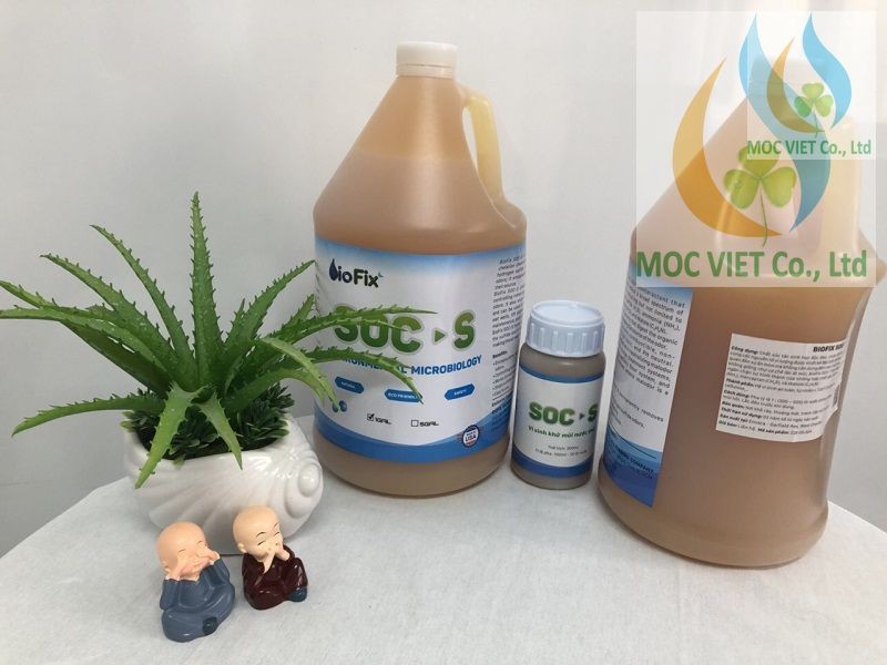 Chế phẩm sinh học khử mùi BioFix SOC- S